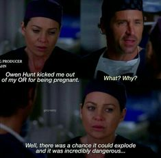She sounded disappointed 😂 this woman is badass crazy Greys Anatomy Derek, Greys Anatomy Funny, Grays Anatomy Tv, Grey Anatomy Quotes, Greys Anatomy Characters, Meredith And Derek, Grey Quotes, Dark And Twisty, Medical Drama