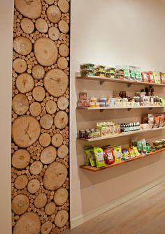 Sliced Teak Wood Panel Wall Art Pinterest Walls And