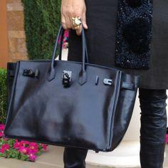 Up Close and Stylish @upcloseandstylish Instagram photos | Websta Hermes Birkin so black in box leather. #soblack #birkin #hermes (1 April 2012)