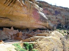 Mesa Verde, home of the ancient Pueblo Indians.