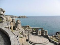The Minack Theatre with Porthcurno beyond