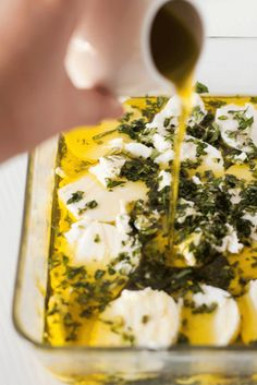 Step up your entertaining game these Holidays with this beautifully fragrant Marinated Goat Cheese Log using fresh herbs from the garden. Goats Curd, Cheese Log, Goat Cheese Recipes, Pizza Rolls, Charcuterie, Fresh Herbs, Original Recipe, Clean Eating Snacks, Easy Meals