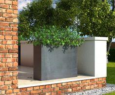 beton pflanzkübel Olivia Schwarz