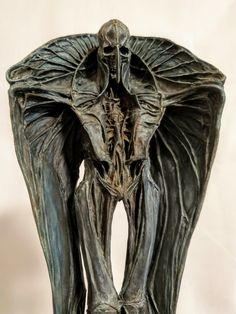 YONEYAMA-KEISUKE (@keisukeyoneyama) / Твиттер Monster Concept Art, Alien Concept, Character Art, Character Design, Arte Fashion, Jugendstil Design, Creepy Art, Creature Concept, Dark Fantasy Art