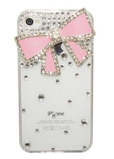 Pink Bow iPhone Cover ♥