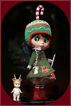 Blythe x Christmas. Check out my AFFORDABLE doll store: http://astore.amazon.com/bandwapopulcultu. Curated by NYC Metro Fandom (formerly Suburban Fandom). NYC Tri-State Fan Events: http://yonkersfun.com/category/fandom/