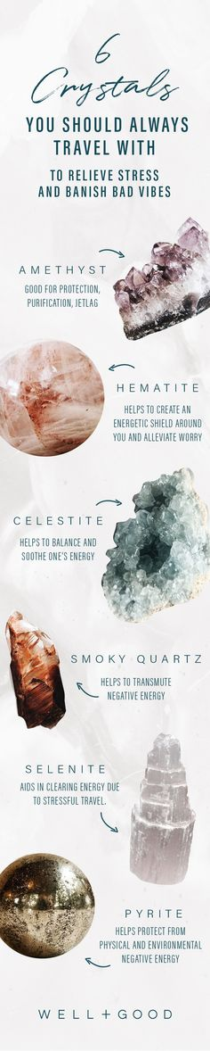 6 crystals to travel with