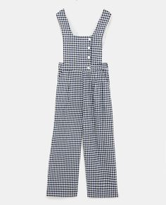 Long Overalls, Zara Jumpsuit, Burgundy Pants, Boiler Suit, Gingham Check, Womens Workout Outfits, Zara Women, Dress Making, Bag Making