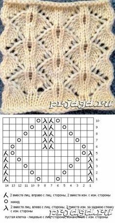 Cable Knitting Patterns, Knitting Charts, Knitting Socks, Knitting Needles, Lace Knitting Stitches, Baby Knitting, Free Knitting, Loom Knitting, Lace Patterns