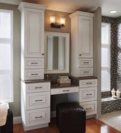 Gallery For Photographers KraftMaid KraftMaid Storage Solutions Bath I would make this my home office station for us laptop users