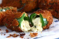 Fried Cheesy Jalapeno Poppers