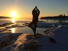 Ice yoga in Swedish Lapland: Does this latest wellness fad make any sense?