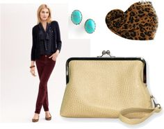 """Navy, Burgundy, Turquoise, and Gold"" by sassysaks on Polyvore"
