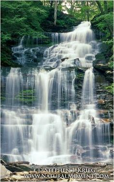 Ricketts Glen State Park, Pa. (we've camped there 4 years in a row... I HIGHLY suggest it!!!)