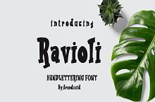 Ravioli Display Font 2 Style by Arendxstudio on @creativemarket