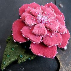 Items similar to Large Pink Velvet Rose Brooch on Etsy French Flowers, Faux Flowers, Silk Flowers, Fabric Flowers, Paper Flowers, Velvet Ribbon, Pink Velvet, Fabric Origami, Cloth Flowers