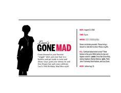 Invitation to Mad Men Party | Invite designed for birthday p… | Flickr