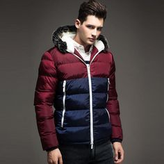 49.90$  Buy here - http://ali21j.worldwells.pw/go.php?t=32505314408 - 2015 Fashion Thick Wooded Winter Jacket Men Coat  Winter Jackets Mens  Coats Parka Manteau Homme Hiver Abrigos Hombres Invierno 49.90$