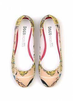 Dogo shoes Kiss Me...Pop Art #shoes #flats #kiss #pop art #dogostore #dogoshoes