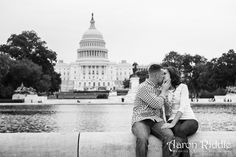 Engagement Photographs at The National Mall in Washington, D.C.