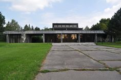 Židenice crematorium, Brno, Czech Republic 1980s