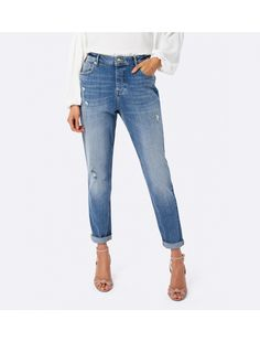 FOREVER NEW Elliot Mid Rise Drop Crotch Jeans, perfect for fresh casual style.