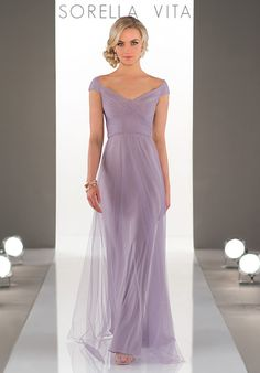 Featuring a sheath silhouette, this Luxe Double-Knit bridesmaid dress is soft and moveable. Its chic, bateau neckline is accented with a small side slit and delicate ruching at the hip.