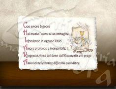 Acrostico preghiera