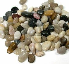 Polished Pebbles Assorted Color|1.8 lbs.