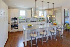 Edgewick model kitchen by Miller & Smith- Poplar Run, MD
