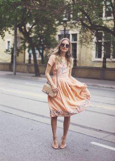 ASOS dress | #Modest doesn't mean frumpy. #DressingWithDignity www.ColleenHammond.com