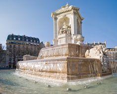 Fontaine des Orateurs Sacrés de la place Saint Sulpice, PARIS 75006