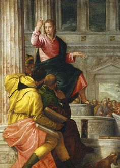 Paolo Veronese. Detail from Jesus among the Doctors in the Temple, 1558.