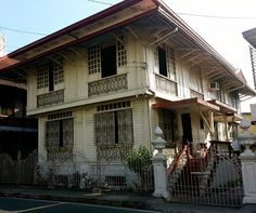 Ancestral House Marikina Filipino Architecture, Philippine Architecture, Tropical Architecture, Dream Home Design, My Dream Home, House Design, Filipino House, Philippine Houses, Bahay Kubo