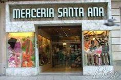 Location map, Shop Mercería Santa Ana Barcelona
