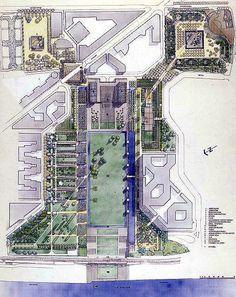 - detail: Parc André Citroën, Paris by Gilles Clément and Alain Provost