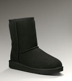 Kid Short Classic Boots Black