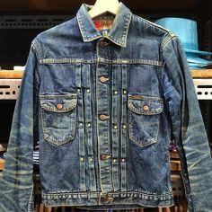 Wrangler Denim jacket #workwear #menswear #jeans #indigo #japan #mode #fashion #style #rugged