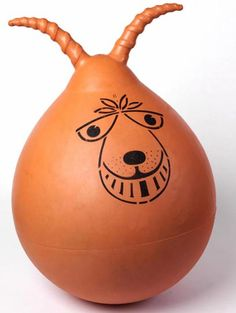 1970s Britain's favourite toy, the Space Hopper.