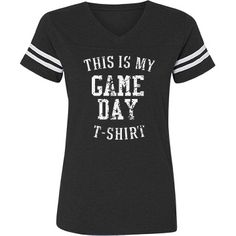Show your team spirit with this soft vintage misses relaxed fit tee from LA T's family line of Vintage Football T-Shirts. Hockey Mom, Baseball Mom, Football Moms, Football Field, Custom Football, Vintage Football, Football Outfits, Customized Girl, Sports Mom
