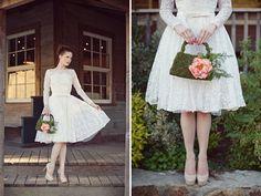 Vintage Wedding Dress Inspiration