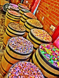 The Candy Barrel at Old Sacramento