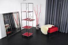 Pure eos #showcase #design by Lestrocasa Firenze #interiordesign #home #steel #modern #Lestrocasa