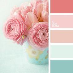Shabby chic colors palette bedroom ideas for 2019 Colour Pallette, Colour Schemes, Color Combos, Summer Colour Palette, Paint Combinations, Pastel Palette, Shabby Chic Colors, Rustic Colors, Rustic Flowers