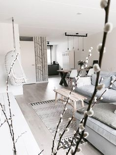 trendy home decoration cozy Home Living Room, Interior Design Living Room, Living Room Decor, Small Living Room Design, Living Room Designs, Living Room Inspiration, Home Decor Inspiration, Ideias Diy, Trendy Home