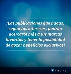 ¡Esto y más es lo que puedes hacer dentro de #VIELITE! www.vielite.com
