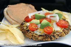 The Golden Nugget Gourmet: Guy Fieri's Morgan Burger-This carnivore loves this veggie burger... you will too!