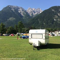 Urlaub im Wohnwagen - Mit Theo in Österreich