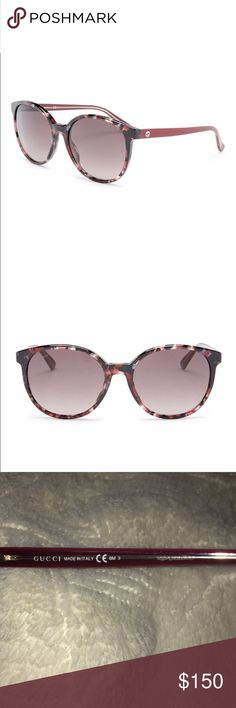 Beautiful Gucci Sunglasses These are in perfect condition. 100% authentic Gucci made in Italy. The colors are gorgeous! Style 3733. Comes with the Original glasses Case😊  I have a bunch of items in my closet so feel free to bundle🛍 I ship Monday-Saturday each day by 4pm📦💌 If making an offer, please be reasonable as Poshmark takes a hefty 20% of all items over $15 or a flat fee of $2.95 if the item is under $15😊 Smoke free home🚭 Always sending good vibes and happy poshing🌞❤️✨ Gucci…