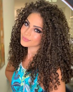 Image may contain: 1 person, closeup Natural Curls, Natural Hair Styles, Long Hair Styles, Long Curly Hair, Curly Girl, Hair Inspo, Hair Inspiration, Biracial Hair, Curled Hairstyles